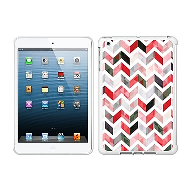 Centon IMV1WG-ZGY-02 OTM Ziggy Collection Case for Apple iPad Mini, White Glossy, Red