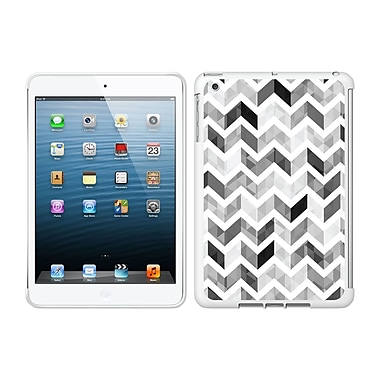 Centon IMV1WG-ZGY-04 OTM Ziggy Collection Case for Apple iPad Mini, White Glossy, Grey