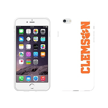 Centon Classic Case iPhone 6 Plus, White Glossy, Clemson University