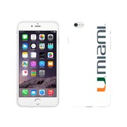 Centon Classic Case iPhone 6 Plus, White Glossy, University of Miami