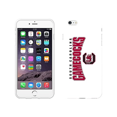 Centon Classic Case iPhone 6 Plus, White Glossy, University of South Carolina