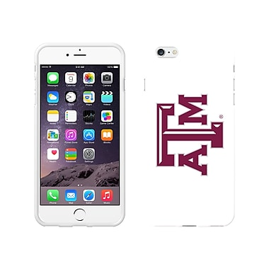 Centon Classic Case iPhone 6 Plus, White Glossy, Texas A&M
