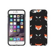 Centon OTM Hipster Collection Case for iPhone 6, Black Matte, Mr. Fox