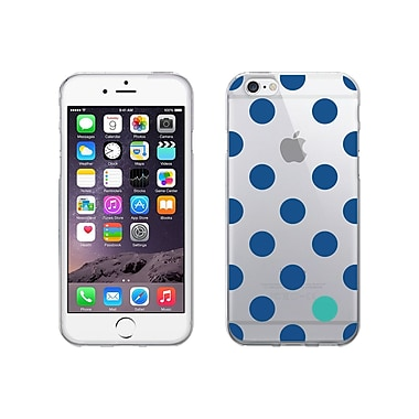 Centon OTM Dots Collection Case for iPhone 6, Clear, Cobalt