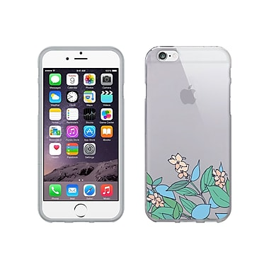 Centon OTM Floral Collection Case for iPhone 6, Clear, Pastel V2