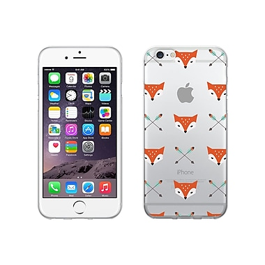 Centon OTM Hipster Collection Case for iPhone 6, Clear, Mr. Fox