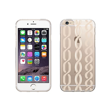 Centon OTM Hipster Collection Case for iPhone 6, Clear, Champagne Links