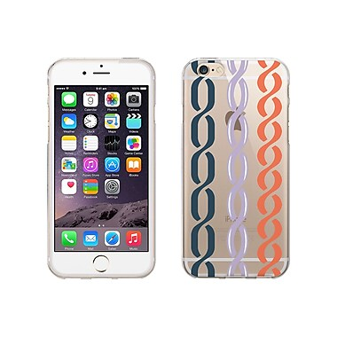 Centon OTM Hipster Collection Case for iPhone 6, Clear, Nautical Links