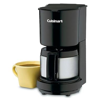 Cuisinart – Cafetière noire de 4 tasses DCC-450BKC