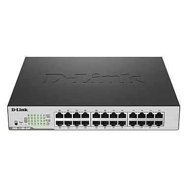 D-Link® EasySmart 24-Port Gigabit PoE Switch