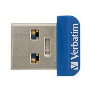 Verbatim ® Store 'n' Stay 16GB Nano USB 3.0 Flash Drive, Blue (98709)