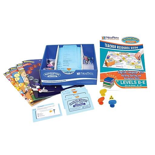 Mastering Spelling & Vocabulary Skills Curriculum Mastery Game