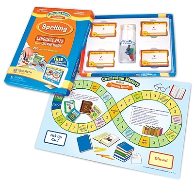 Mastering Spelling and Vocabulary Skills Curriculum Mastery Game