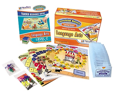Mastering Language Arts Curriculum Mastery Game Grade 3
