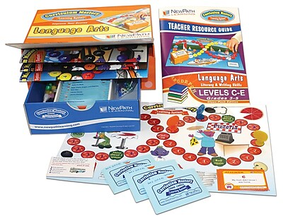 Mastering Literacy & Writing Skills Curriculum Mastery Game Grade 3 - 5