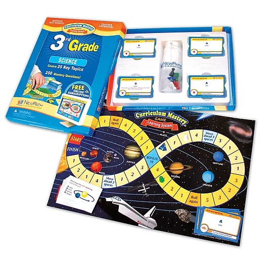 NewPath Learning Science Curriculum Mastery Game, Grade 3