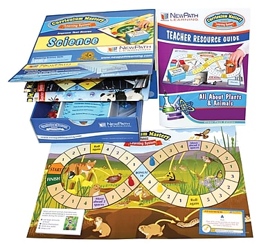Plants & Animals Curriculum Mastery Game