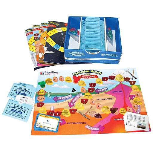 Middle School Earth Science Skills Game