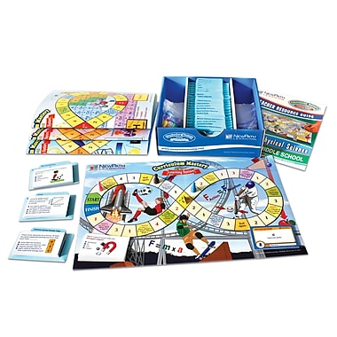 Middle School Physical Science Curriculum Mastery Game