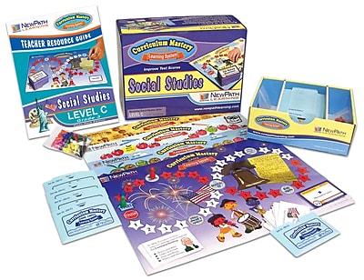 Social Studies Curriculum Mastery Game Grade 3 Class Pack