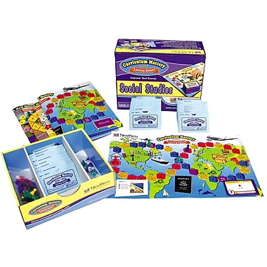 Social Studies Curriculum Mastery Game Grade 6 Class Pack