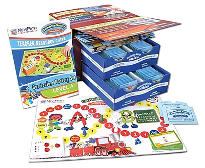 3 Piece Curriculum Mastery (ELA, Math & Science) Game Set Grade 1