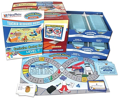 4 Piece Curriculum Mastery (ELA, Math & Science) Game Set Grade 3