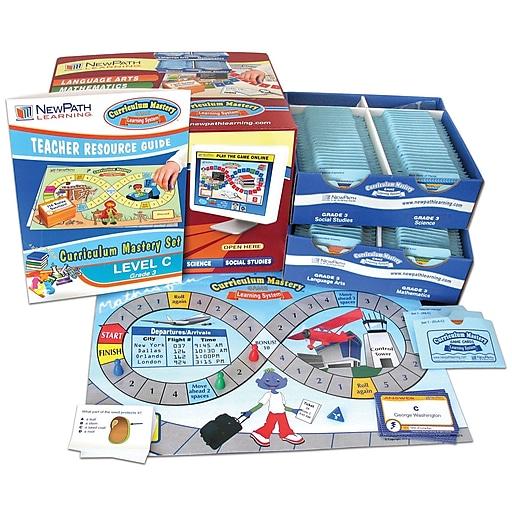 4 Piece Curriculum Mastery (ELA, Math & Science) Game Set Grade 3
