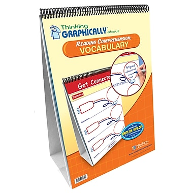 NewPath Learning Thinking Graphically About Reading Comprehension Vocabulary Flip Chart Set