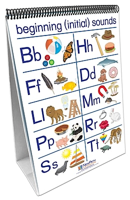 NewPath Learning Phonemic Awareness Curriculum Mastery Flip Chart Set