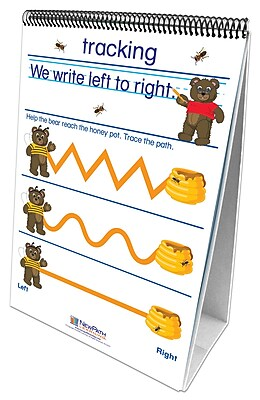 NewPath Learning Writing Readiness Curriculum Mastery Flip Chart Set