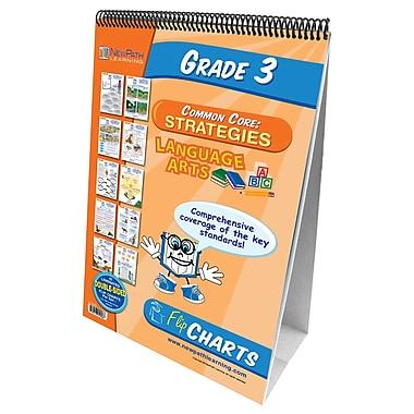 NewPath Learning English Language Common Core Curriculum Mastery Flip Chart Set, Grade 3
