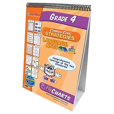 NewPath Learning English Language Common Core Curriculum Mastery Flip Chart Set, Grade 4