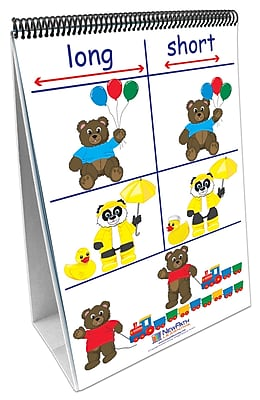 NewPath Learning Positions/Opposites Curriculum Mastery Flip Chart Set