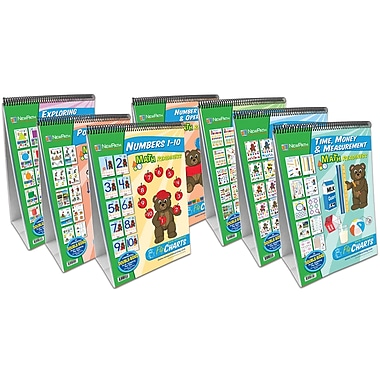 NewPath Learning 7 Piece Math Readiness Flip Chart Set