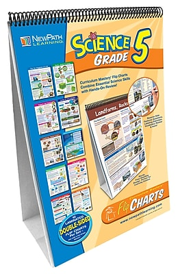 NewPath Learning Curriculum Mastery Flip Chart Set, Grade 5