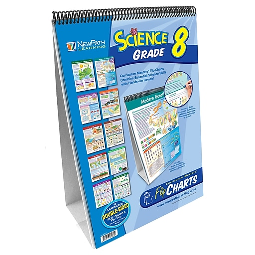 NewPath Learning Science Curriculum Mastery Flip Chart Set
