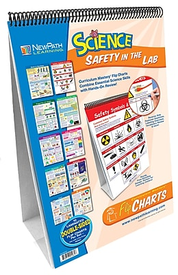 NewPath Learning Safety in the Lab Curriculum Mastery Flip Chart Set