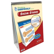 NewPath Learning Thinking Graphically About Social Studies Curriculum Mastery Flip Chart Set