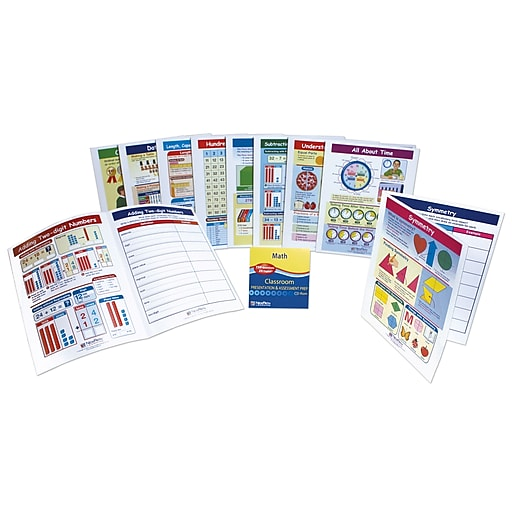 Mastering Math Visual Learning Guides Set Grade 2