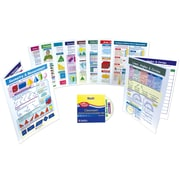 10 Piece Geometry & Measurement Visual Learning Guides Set