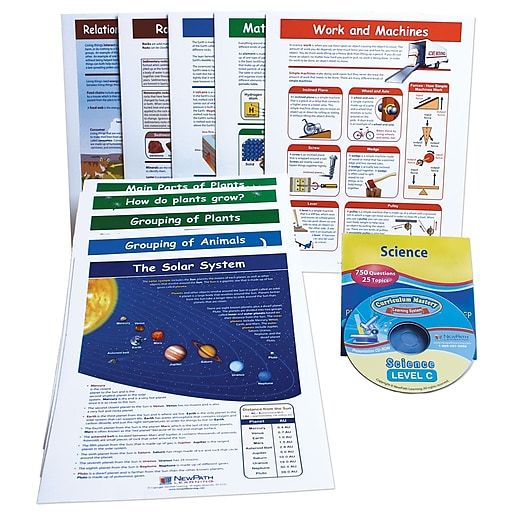 NewPath Learning 10 Piece Mastering Science Visual Learning Guides Set