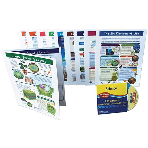 NewPath Learning Mastering Science Visual Learning Guides Set
