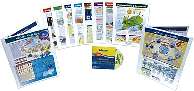 NewPath Learning Mastering Middle School Life Science Visual Learning Guides Set
