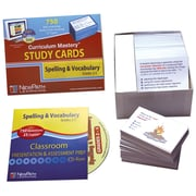 Mastering Spelling and Vocabulary Study Card