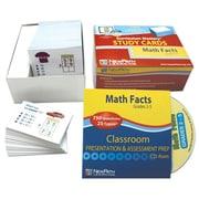 Math Facts Study Card Grade 2-5