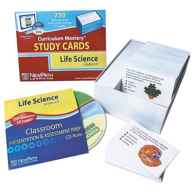 NewPath Learning Life Science Study Cards