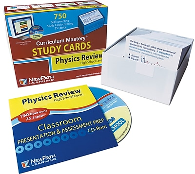 NewPath Learning High School Physics Study Cards