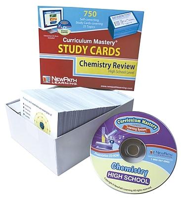 NewPath Learning High School Chemistry Study Card
