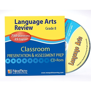 Language Arts Interactive Whiteboard CD-ROM Grade 8 - 10